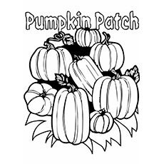 Top 25 Free Printable Pumpkin Patch Coloring Pages Online ...