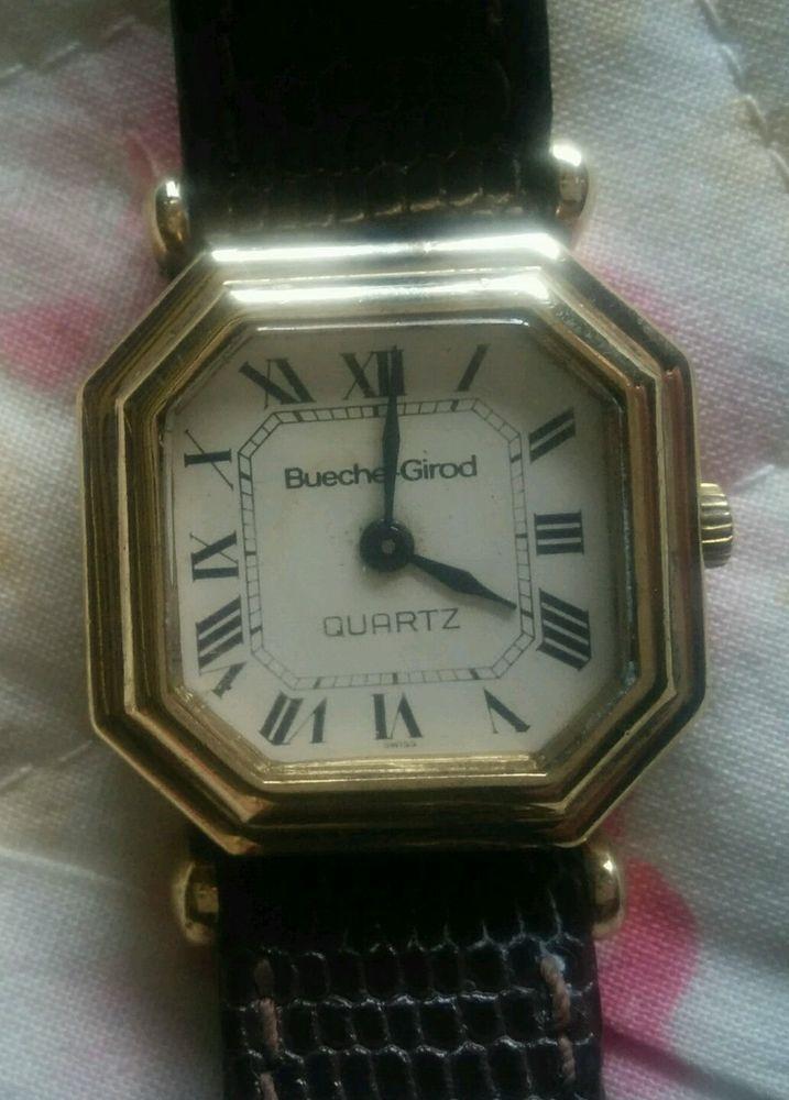 designer 9ct heavy gold vintage ladies bueche girod watch stuff designer 9ct heavy gold vintage ladies bueche girod watch