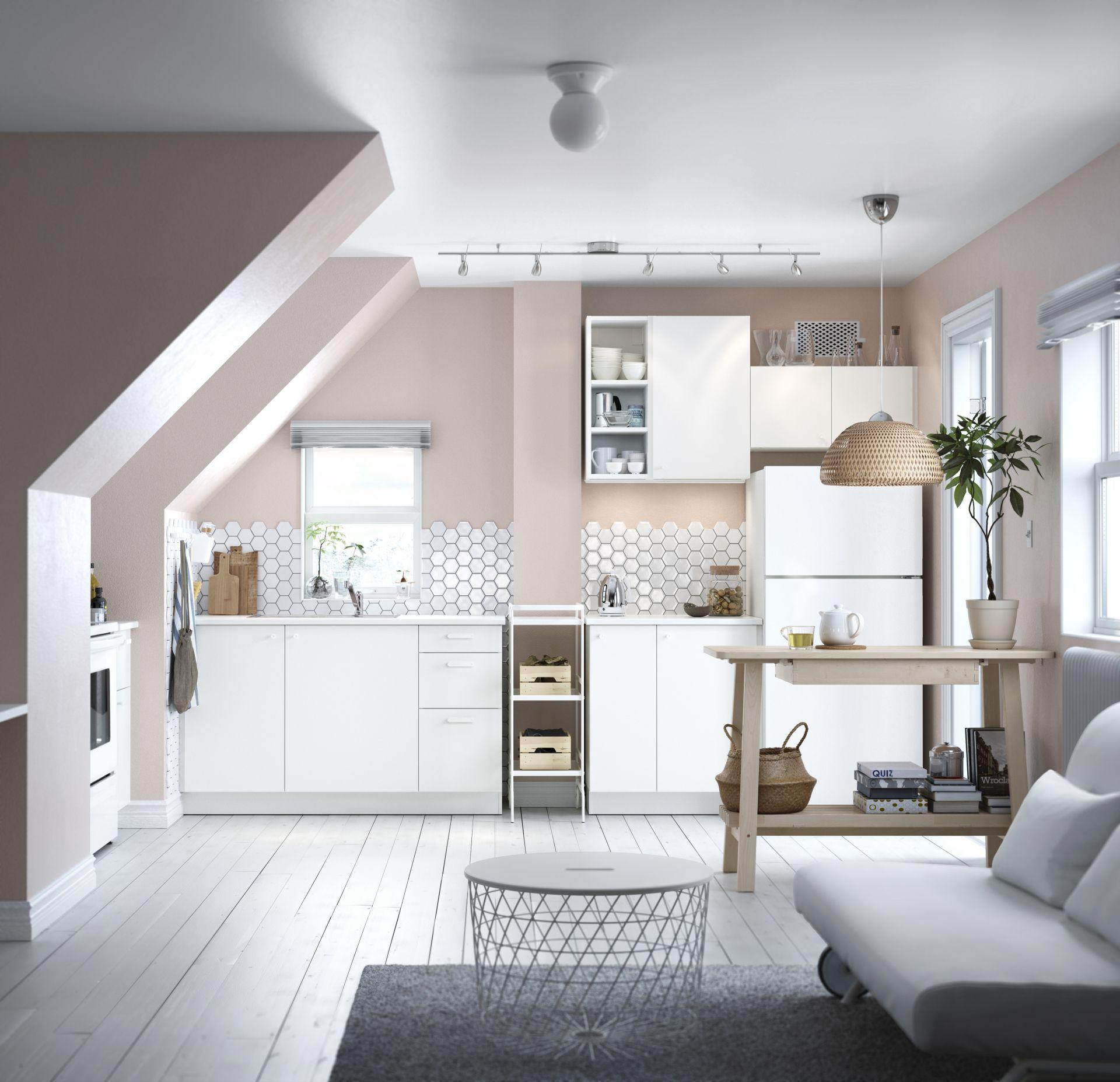 METOD/HÄGGEBY keuken | IKEA IKEAnl IKEAnederland wit koken eten ...