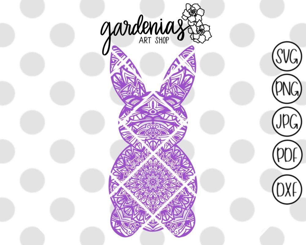 108+ Easter Bunny Mandala Svg Free – SVG Bundles
