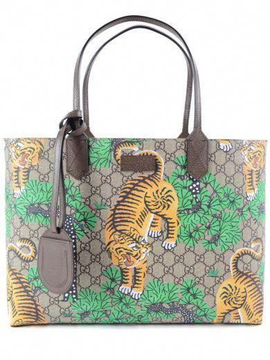 4202dbe32c9 GUCCI Gucci Tote Gg Tiger.  gucci  bags  hand bags  tote ...