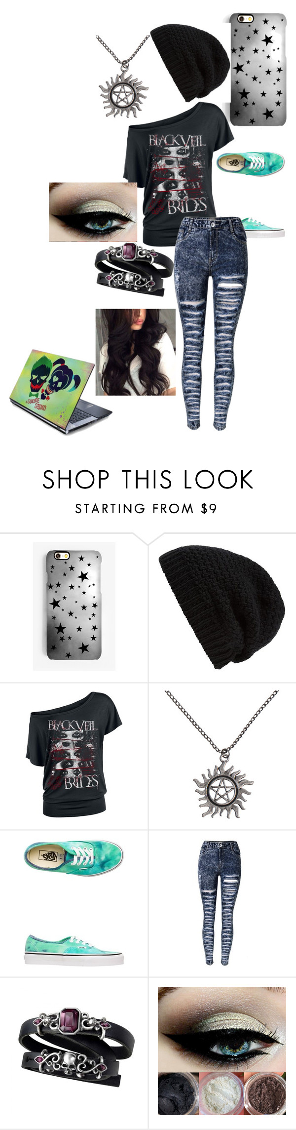 """Tryouts"" by summer-mendes on Polyvore featuring Rianna Phillips, Rick Owens and Vans"