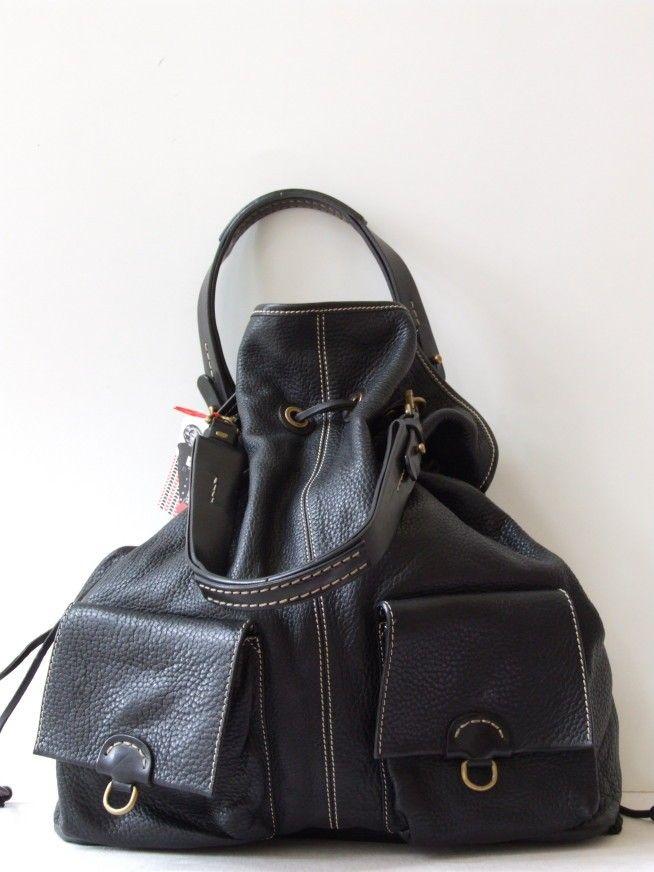 7cf1f0885b2 Sem Vaccaro moderne grote shopper handtas/schoudertas met 2 voorvakken -  Tassen & portemonnees - Vintage