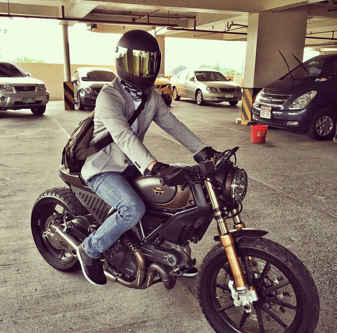 Ducati Scrambler Cafe Racer Custom Ducati Scrambler Cafe Racer Motorcycle Ducati