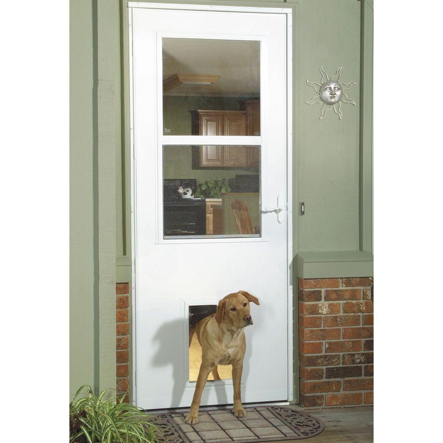Product Image 2 Pet Door Tempered Glass Door Storm Door