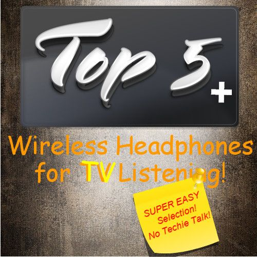 List Of The Best Wireless Headphones For Tv Watching
