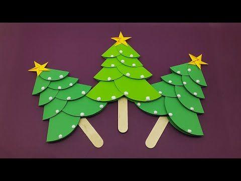 How to Make Christmas Tree with Paper  Christmas Tree Decoration Ideas for kids  DIY Xmas tree -   18 xmas decorations to make kids ideas