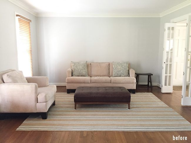 Easy Makeover Taking A Neutral Living Room From Plain To Polished Young House Love Neutral Living Room Couch Makeover Living Room Makeover
