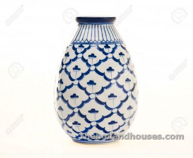Blue White China Vase Vases Design Pinterest