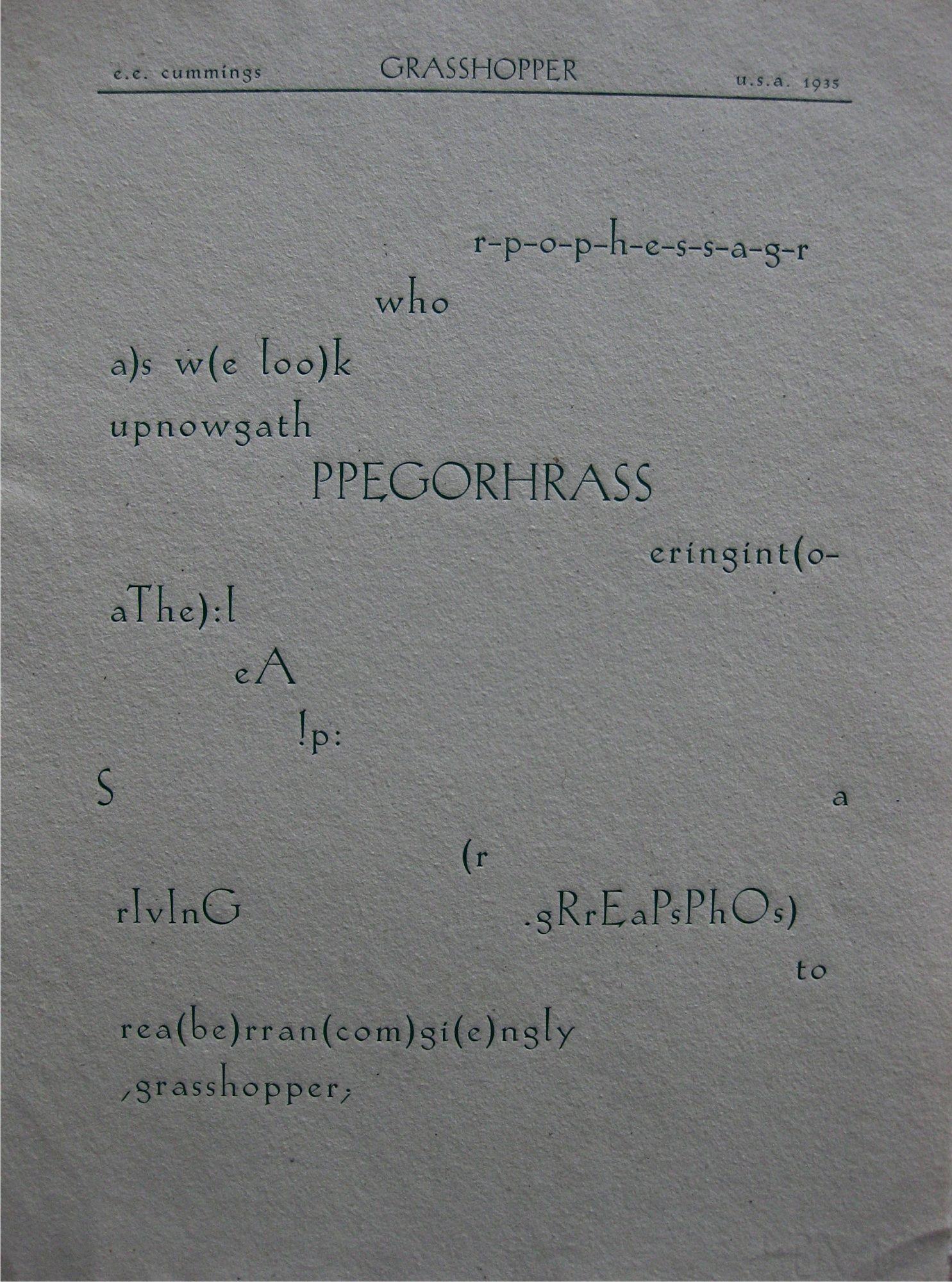 thomas stearns eliot 1922 original manuscript for wasteland e e cummings r p o p h e s s a g r