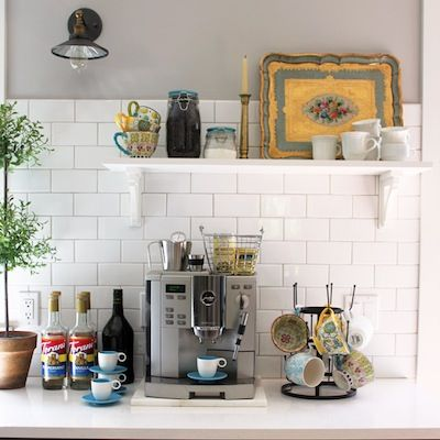 21 Coffee Bars To Put Pep In Your Home Design