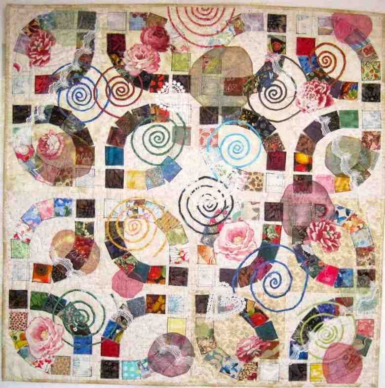 Wedding Ring Quilt Kit double wedding ring quilt Pinterest