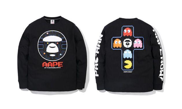 642027d92 AAPE by BAPE x Pac-Man Collection   My Style   Bape, Men's ...