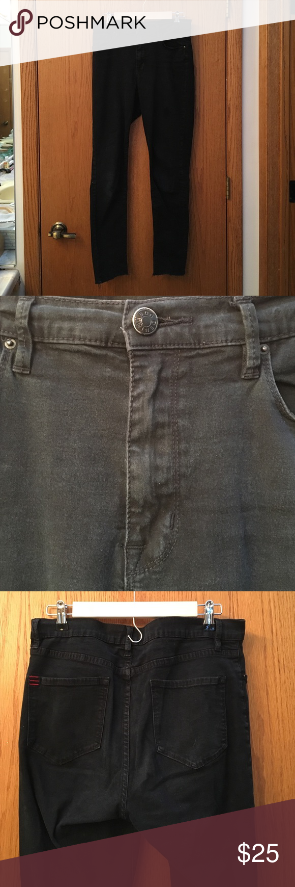 UO BDG Black Twig Highrise Jeans Urban Outfitter BDG Black highrise skinny jeans 30W BDG Jeans Skinny