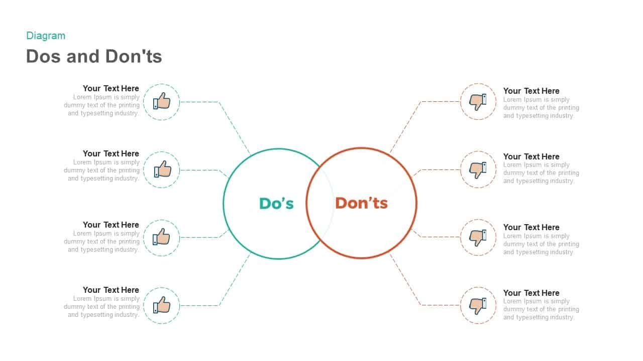 Dos And Don Ts Powerpoint Template And Keynote Slide Dos And