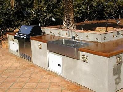 Outdoor Spanish Bbq Outdoor Kitchen Spanish Style Homes Spanish Style Decor