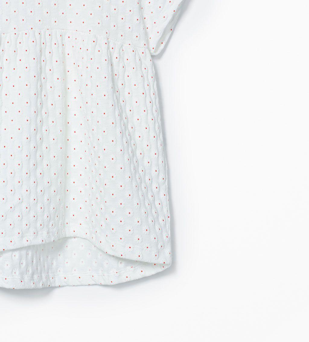 Imagem 5 de Blusa estampado margaridas da Zara