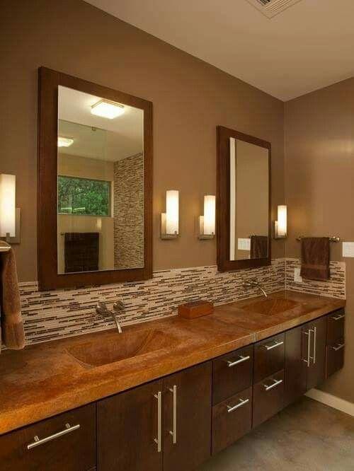 Espejos enmarcados p el baño | baño | Pinterest | Espejos enmarcados ...