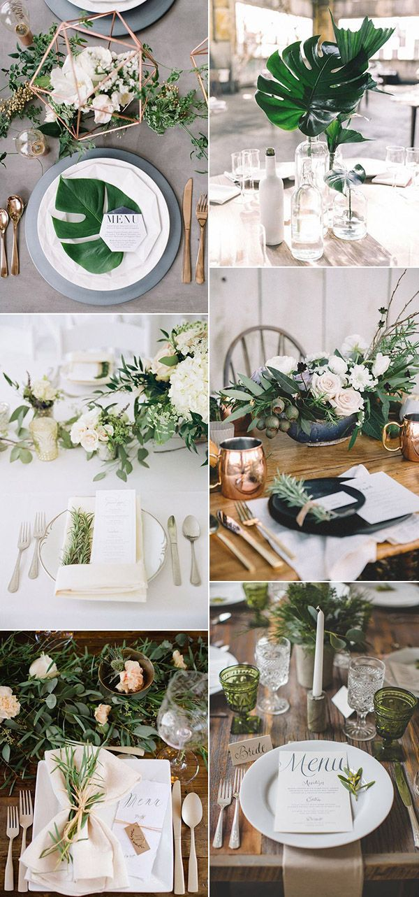 50 Amazing Ways To Use Green Floral At Your Wedding