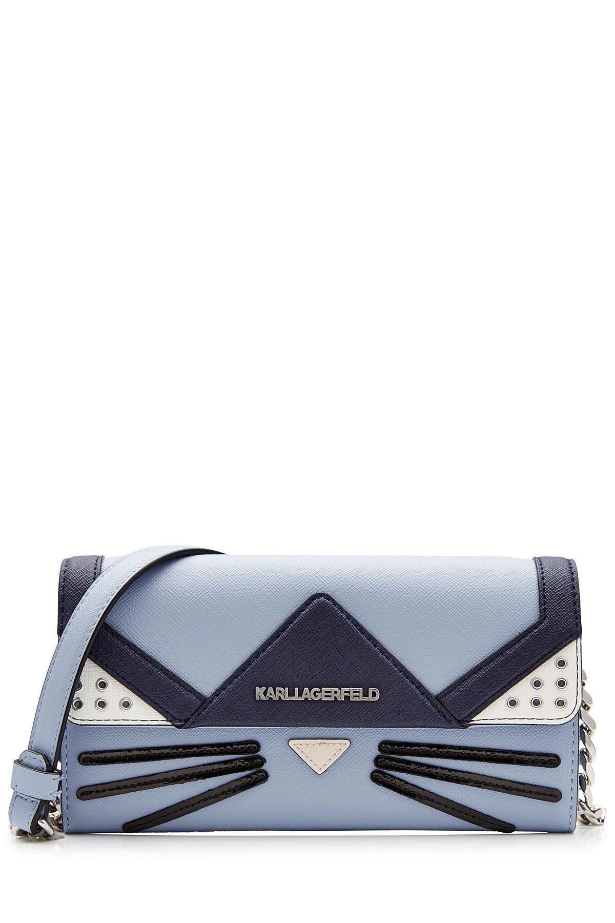 Cat Crossbody Mini Shoulder Bag From Karl Lagerfeld Luxury Fashion