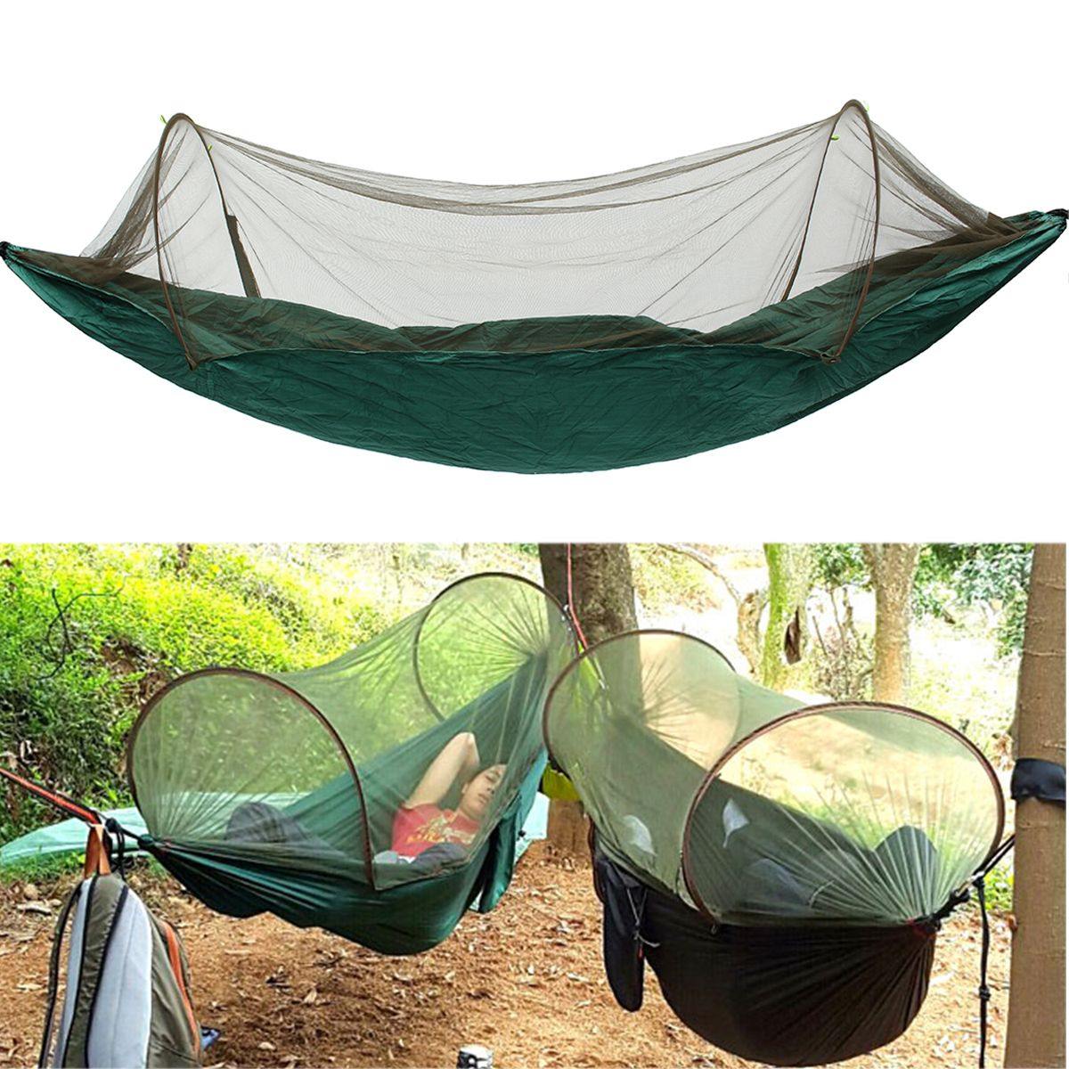 Us xcm portable outdoor camping hanging hammock