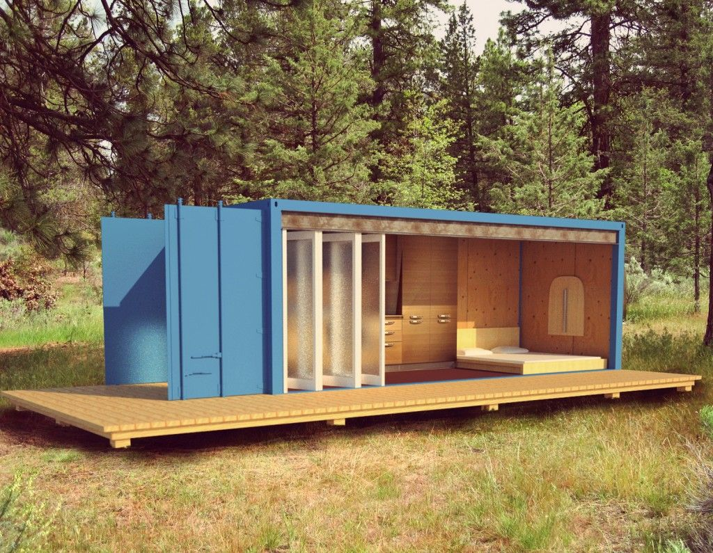 shipping container cottages SHIPPING CONTAINER CABIN casitas