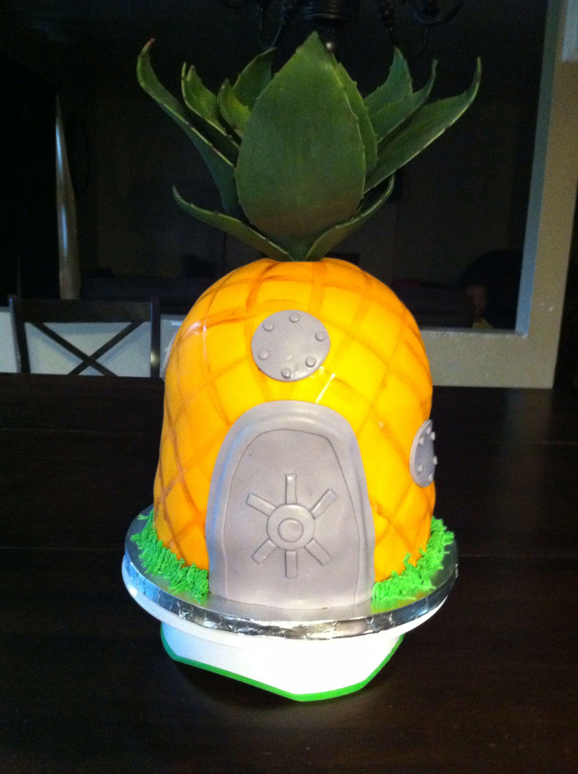 Spongebob Cake By 7 Little Cupcakes In ToledoOhio