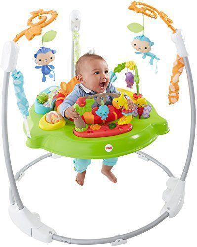 Baby Jumper Bouncer Seat U Jumperoo Fisher Price Toy Animals Roarin Rainforest Fisherprice Fisher Price Rainforest Jumperoo Baby Swings And Bouncers Jumperoo