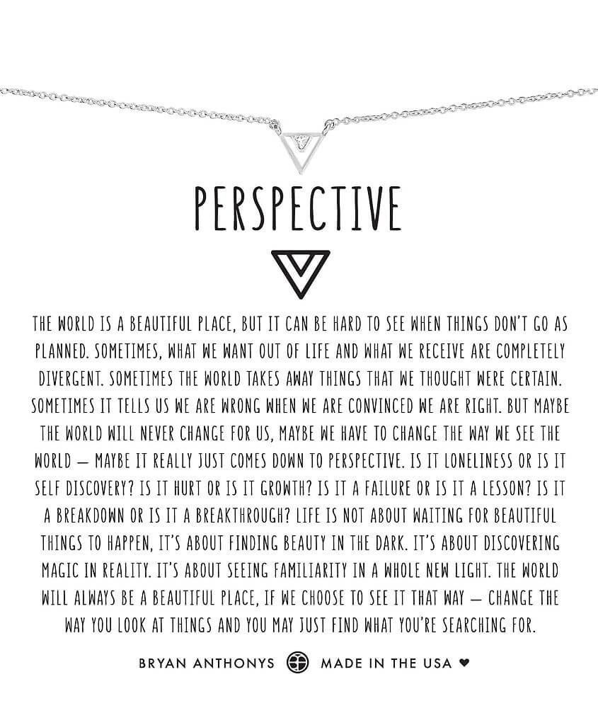 Bryan Anthonys Perspective Necklace - Women's Jewe