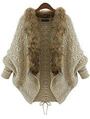De las mujeres Cardigan - Grueso Vintage - Acrí... – USD $ 32.99