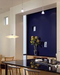 Indigo Blue Accent Wall Blue Accent Walls House Interior Home