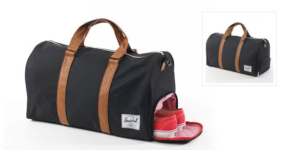 Weekend Bag Has A Special Shoe Compartment Herschel Novel Duffel