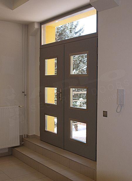 Haustüre Glas Adlo Eingang Pinterest Haustür glas, Haustüren - design turen glas holz moderne