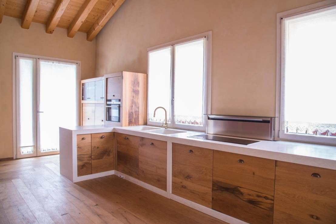 Come Modificare Una Cucina Componibile foto cucine moderne in muratura