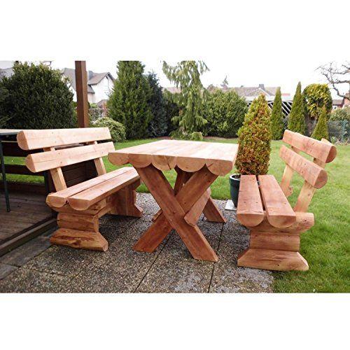 Holz Gartenmöbel Rustikal Ungarn | Holz Gartenbank in 2018 | Pinterest