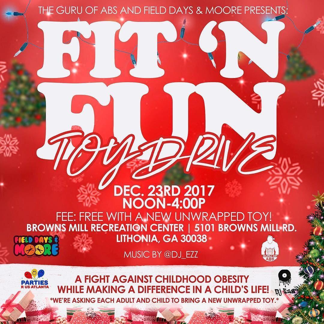 Repost guru_of_abs Atlanta! The FitNFunToyDrive will