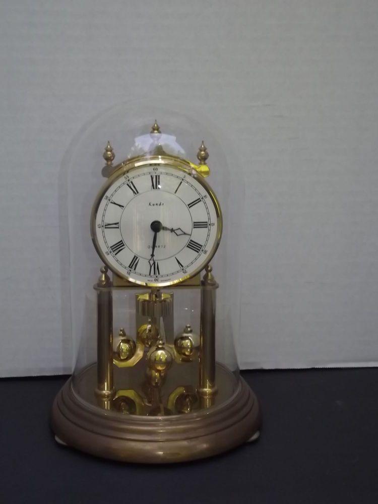 b38b45f1172 Kundo Quartz Anniversary Mantle Clock Made in Germany