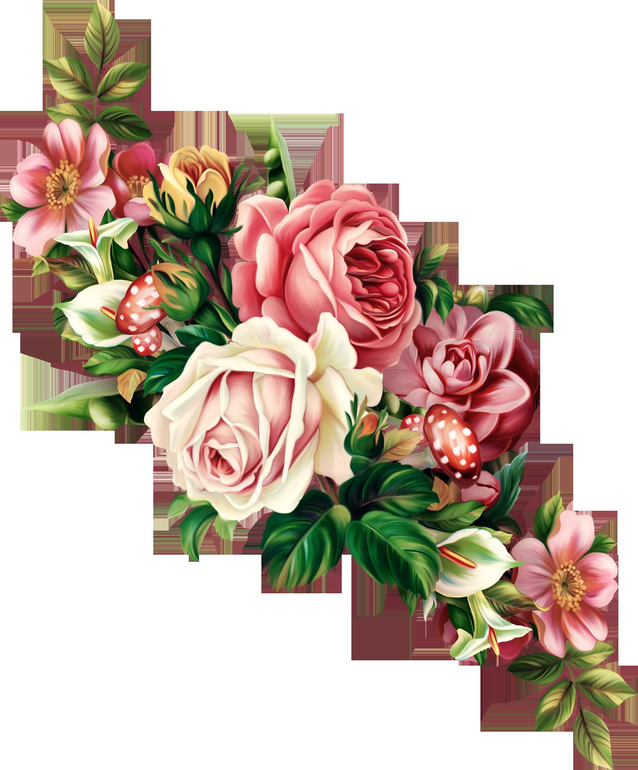 Картинки цветы красивые букеты на прозрачном фоне нарисованные