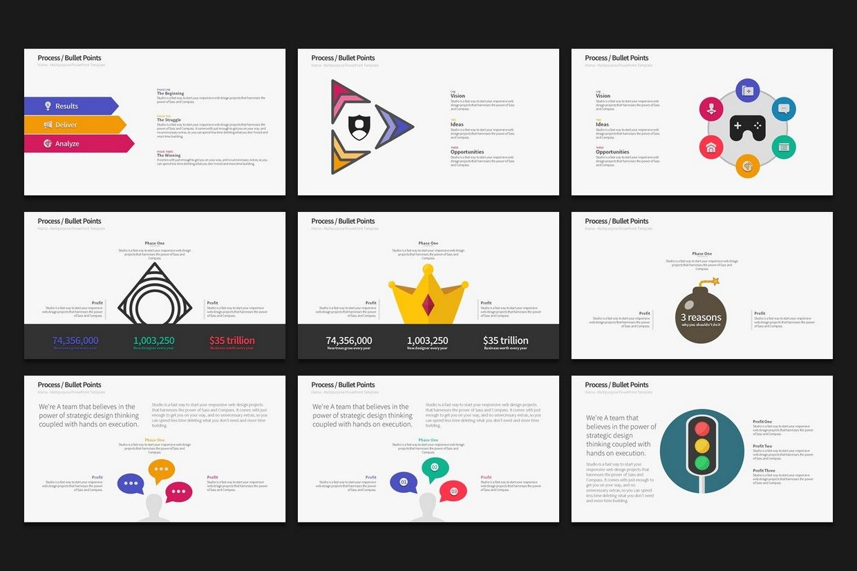 Warna Slides Multi Purpose Powerpoint Template 2019 Update Ad