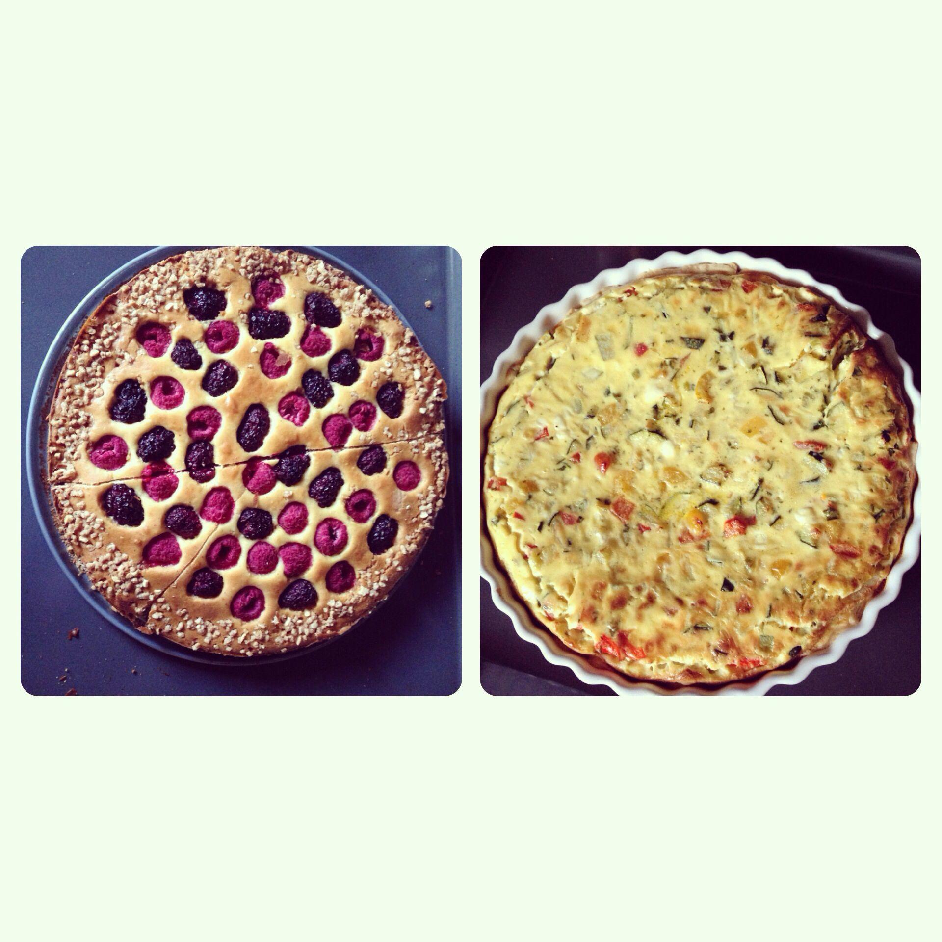 Kuchen und quiche