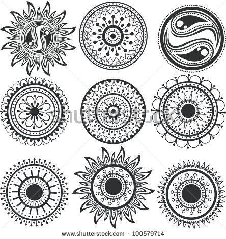 African Sun Mandalas Mandala Tattoo Design Mandala Sun Tattoo Mandala Tattoo