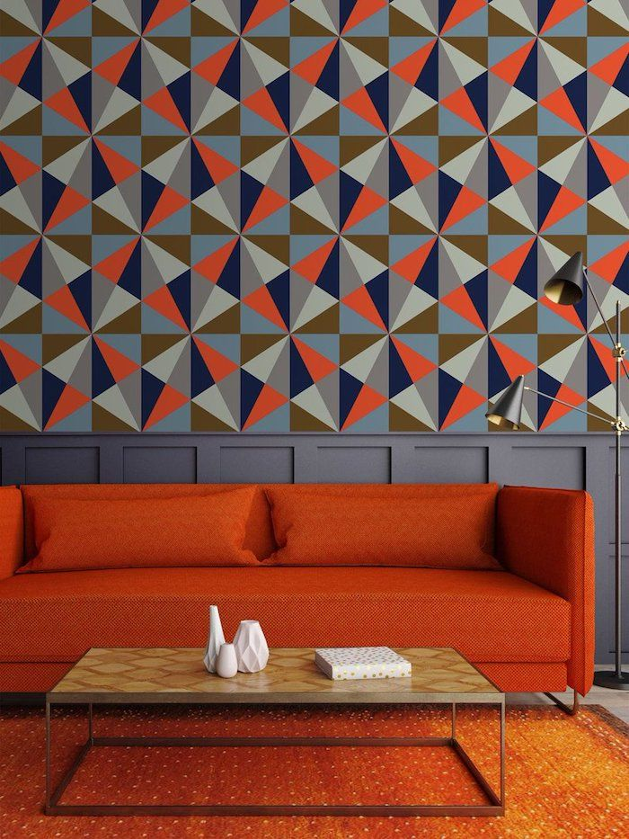 ▷ 1001 + Ideen für Wohnzimmer Wandfarbe 2018 Wandgestaltung Ideen - Moderne Tische Fur Wohnzimmer