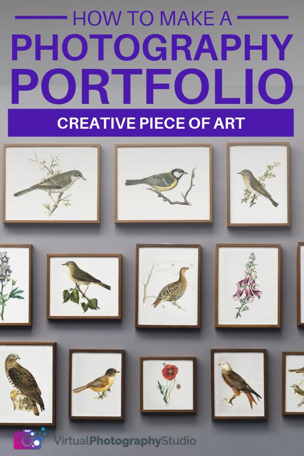 how to build a creative portfolio