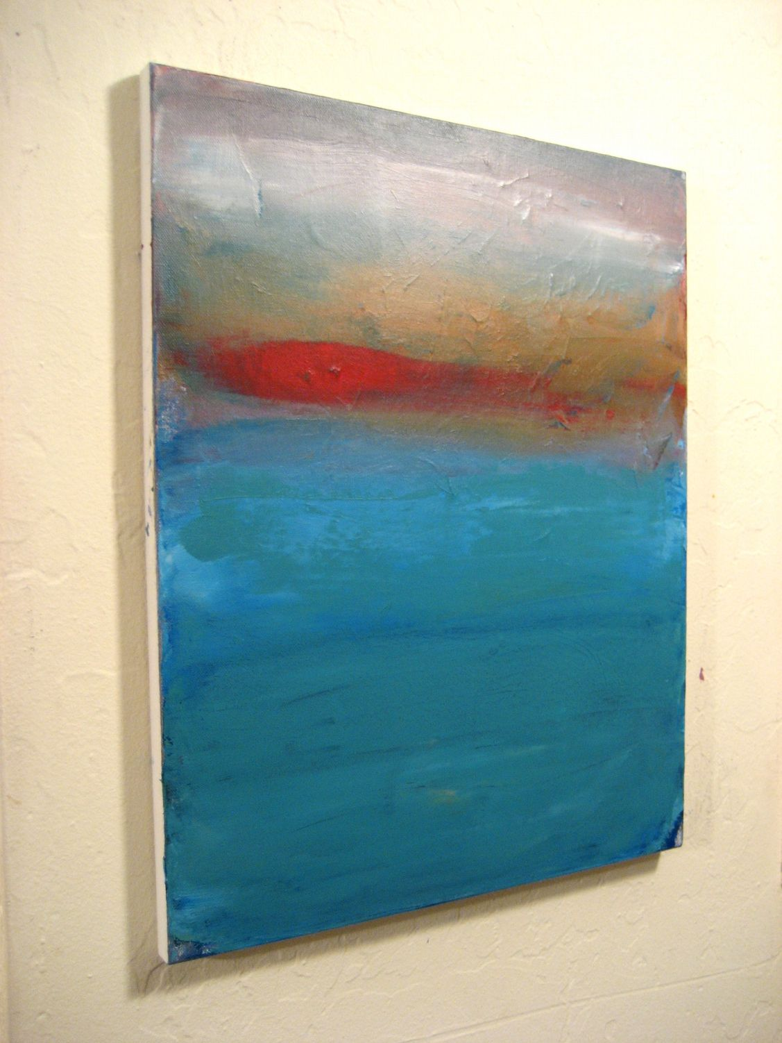 Original Small Abstract Painting 183 Abstract Expressionism