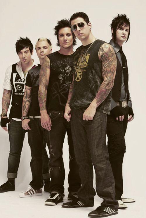 Fave Group Shot Avenged Sevenfold Avenged Sevenfold Band
