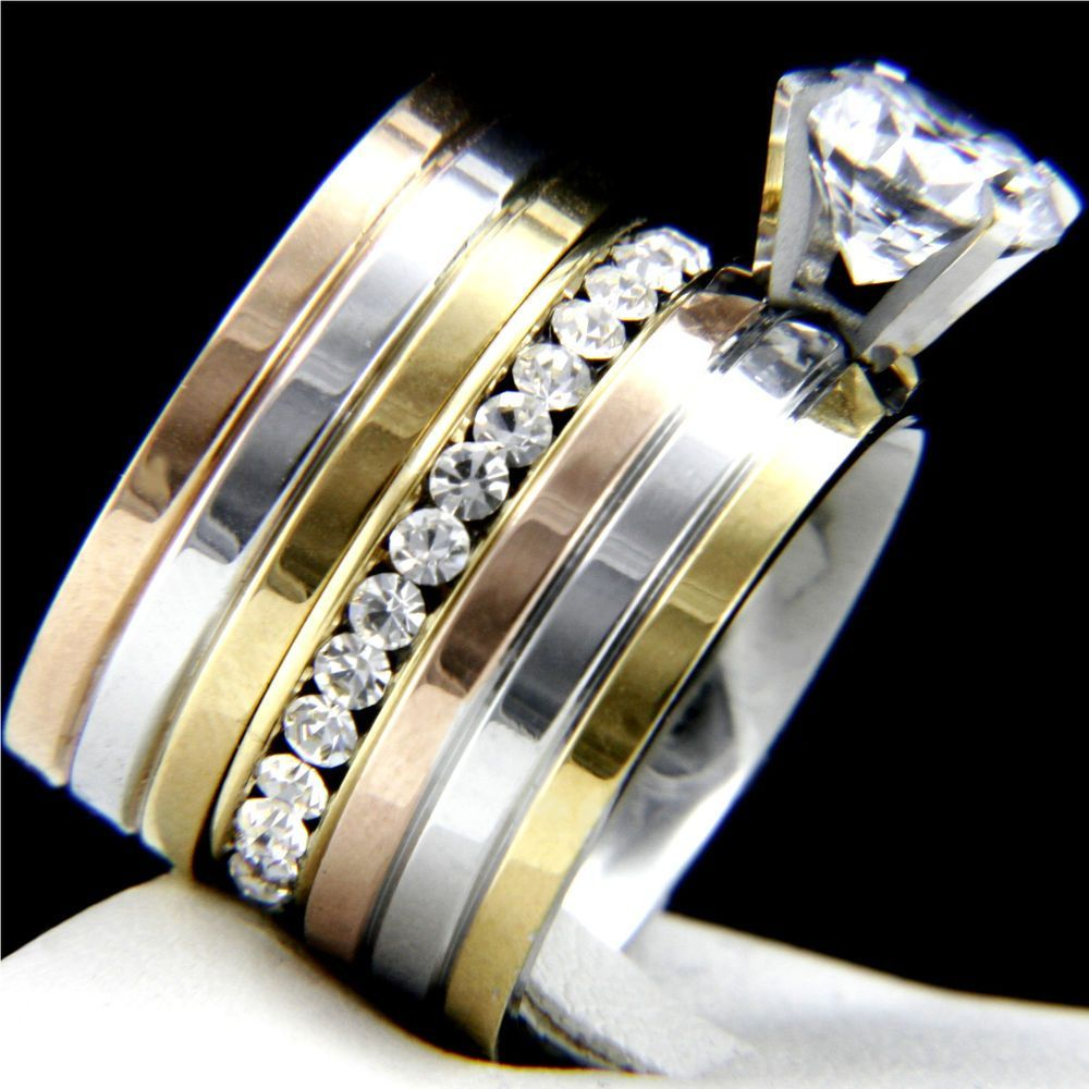Stainless Steel Wedding Rings Men Of Steel Drawing In Male Customers With Alternative Materials