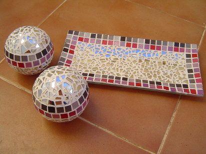 bandejas hechas en mosaiquismo buscar con google On bandejas hechas con mosaicos