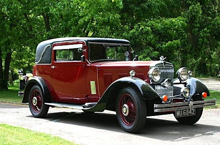 1933 Rare Morris ISIS 17.5 Coupe with a Straight Six-cylinder 2.5L engine