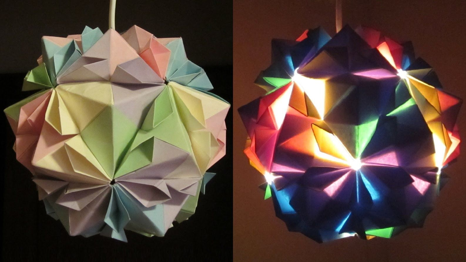 Diy Lamp Flower Ball Learn How To Make A Paper Lampshade By