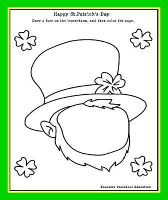 image regarding St Patrick Day Printable Activities known as Children St. Patricks Working day Leprechaun Printable Video game